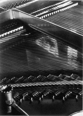 Aenne Biermann, Scherzo, Einblick in ein Klavier,