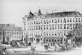 Gasthof »Zum römischen Kaiser« auf der Freyung in Wien – www.altenbergtrio.at