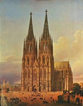 Carl Hasenpflug, Kölner Dom,