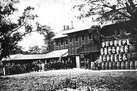 開拓使麦酒醸造所の開業式