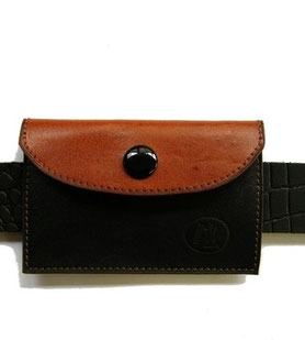 porte carte cuir artisanal pour homme made in France