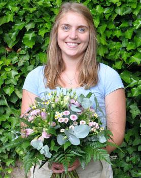 Das Grünschnabel-Team - Lena Wirth ist Floristin mit Herzblut