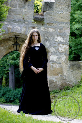 Mittelalterkleid Gothik