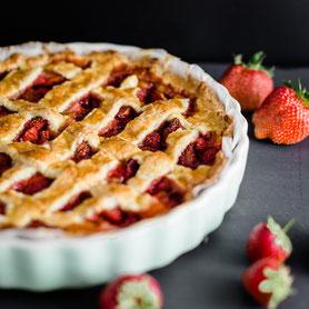 Erdbeer-Crostata.