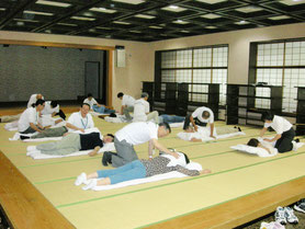 7/21治療奉仕事業開催風景2
