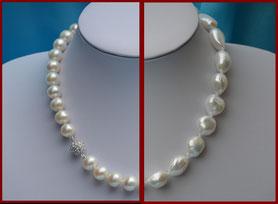 Les formes des perles : rondes et baroques