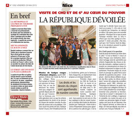 Article publié le 29 mai 2015 par Direct Matin