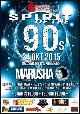 24.10.2015: Spirit Of The 90s-Festival, Kauzenburg Bad Kreuznach