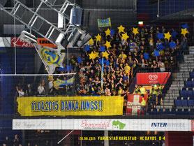 20.08.2015 Färjestad Karlstad vs. HC Davos 0:4
