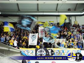14.10.2014 EHC Kloten vs. HC Davos 3:2