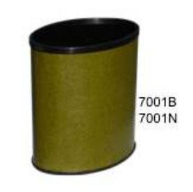 7001B, 7001N. Bote de Polipiel Beige y Negro. Medidas: 27 X 19 X 31 cm. Capacidad  30 y 45 litros.