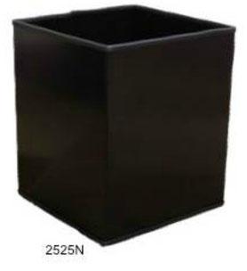 2525N. Basurero Cuadrado pequeño Negro 26x26x30cm