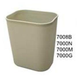 7008B, 7000N, 700M, 7000G. Bote Ignífugo Beige, Negro, Marrón, Gris. Medidas: 27.5 X 21 X 31.5 cm. Capacidad de 14 litros