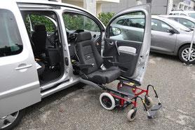 T.P.M.R et Transport Handicapé