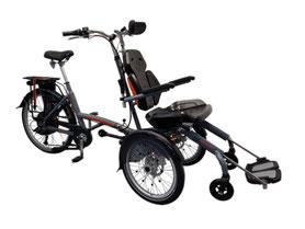 Van Raam Spezial-Dreirad O-Pair Rollstuhlrad 2 finanzieren mit 0% Zinsen bei den Dreirad Experten Dreirad-Zentrum - Dreiräder und Elektro-Dreiräder für Erwachsene