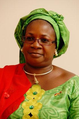 IE Marie Odile Bounkougou, Botschafterin von Burkina Faso