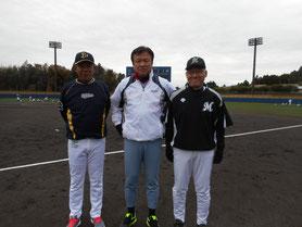 左から西村さん・堀井さん・上川さん