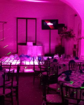 karaoke luz y Sonido dj basico en Casa de las Campanas