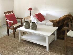 Ferienwohnung – Wohnzimmer