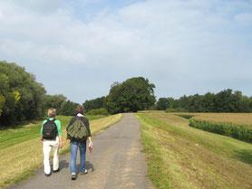 Wandern auf dem Sankt Jakobus Pilgerweg