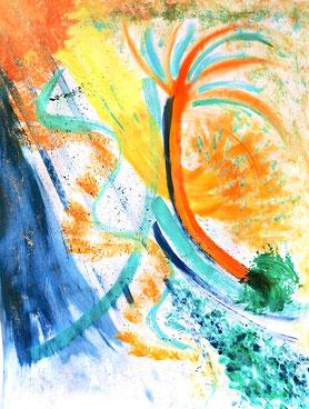 peinture intuitive, severine saint-maurice, lescerclesdelumiere.com
