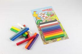 09121 - 10 Farben Blisterkarte
