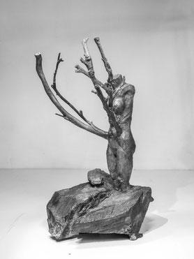 Fig 372, 2017, Bronze, Höhe 35,5cm, Unikat