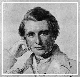 John Ruskin (1819-1900), gezeichnet von George Richmond (1857)