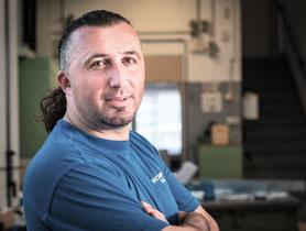 Neset Saljihi Qualitätsprüfung für die Blechverarbeitung und Laserschneiden