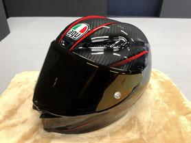 AGV PISTA GP R ヘルメット ガラスコーティング 岡山市南区 カーコーティング専門店アウェイク