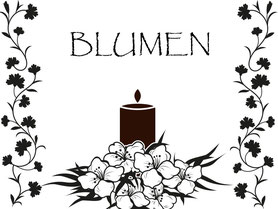 Blumenarrangements des Bestattungshauses Kritzler