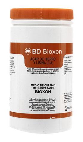 211719 BD Bioxon® Agar Hierro y Lisina, 450 g