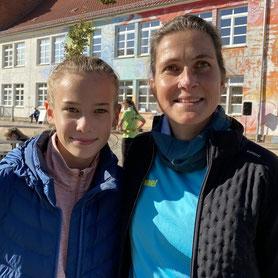 Mara und Anja Simon
