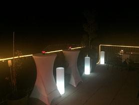Location colonne lumineuse nouvel an