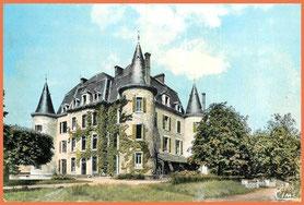 le château en l'année 1940