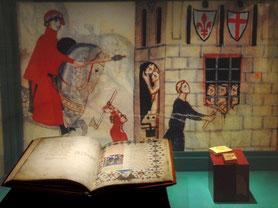 Musée Maison Dante à Florence. TEMPLE DE PARIS