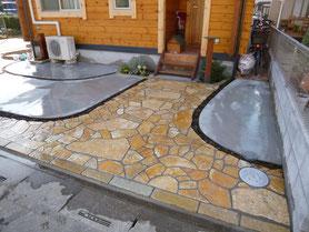 石材・レンガ・外構施工例(埼玉県春日部市など)