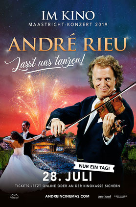 Andre Rieus Maastricht Konzert 2019 Hauptplakat