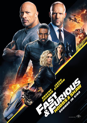 Fast & Furious: Hobbs & Shaw Hauptplakat