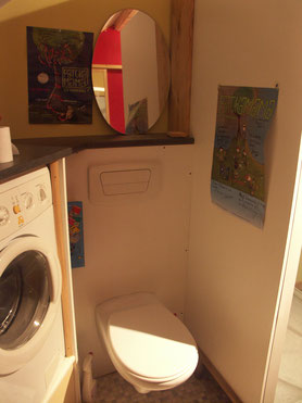wc+ lave linge