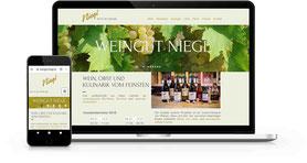 Weingut NIegl Website