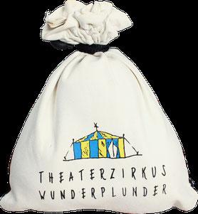 Bedruckte Jonglierbälle mit Logo im Beutel