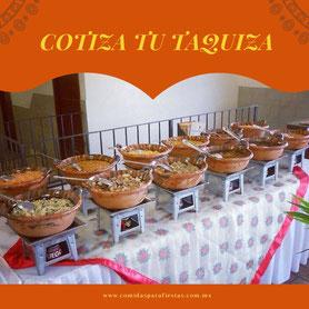 Comidas para fiestas en cdmx