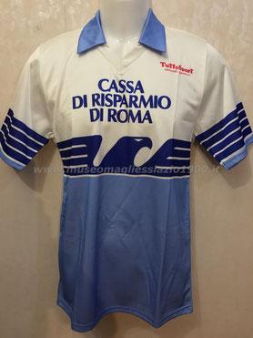 Lazio 1986-1987: maglia casa (www.museomagliesslazio1900.it)