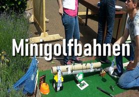Baut eure Minigolfbahn, so wie Ihr sie schon immer haben wolltet.
