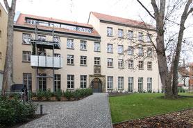 Denkmalschutz Mehrfamiliehwohnhaus Balkon Erfurt