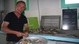 Île d'Aix Franck Speisser Ostréiculteur et restaurateur