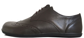 Senmotic business barefoot shoes - Empire F1 Black/Brown