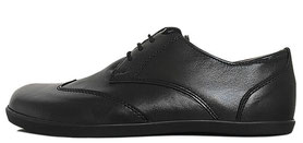 Senmotic business barefoot shoes - Fine F1 Black/Black