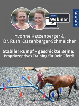Webinar! Stabiler Rumpf - geschickte Beine: Propriozeptives Training für mein Pferd.